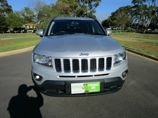 2013 Jeep Compass MK MY14 North (4x2) Silver 6 Speed Automatic Wagon.