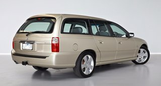 2006 Holden Berlina VZ MY06 Gold 4 Speed Automatic Wagon.
