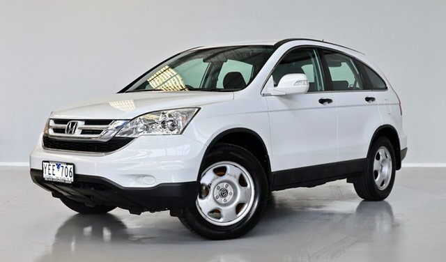 Used Honda CR-V RE MY2010 4WD Thomastown, 2011 Honda CR-V RE MY2010 4WD White 6 Speed Manual Wagon