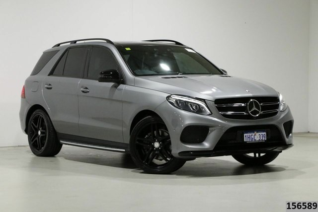 Used Mercedes-Benz GLE350d 4Matic 166 MY17 Bentley, 2016 Mercedes-Benz GLE350d 4Matic 166 MY17 Grey 9 Speed Automatic Wagon