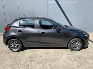 2021 Mazda 2 DJ2HAA G15 SKYACTIV-Drive Pure Machine Grey 6 Speed Sports Automatic Hatchback.