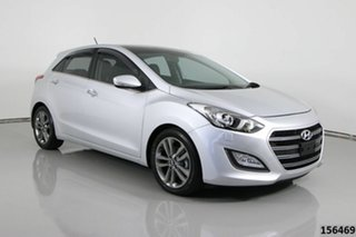 2015 Hyundai i30 GD3 Series 2 Premium 1.6 CRDi Silver 7 Speed Auto Dual Clutch Hatchback.
