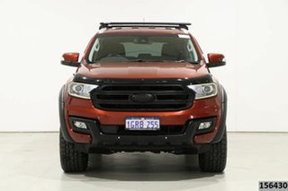 2015 Ford Everest UA Trend Red 6 Speed Automatic SUV.