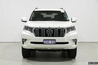 2018 Toyota Landcruiser Prado GDJ150R MY18 VX (4x4) White 6 Speed Automatic Wagon.