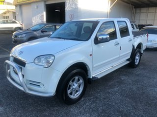 2009 Great Wall V240 K2 Super Luxury White 5 Speed Manual Utility