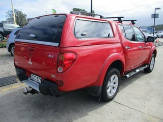 2014 Mitsubishi Triton MN MY15 GLX-R Double Cab Red 5 Speed Manual Utility