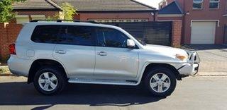 2014 Toyota Landcruiser VDJ200R MY13 VX (4x4) Silver 6 Speed Automatic Wagon.