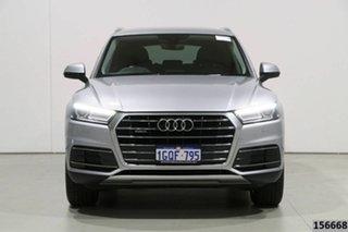 2017 Audi Q5 FY MY17 2.0 TDI Quattro Design Silver 7 Speed Auto S-Tronic Wagon.