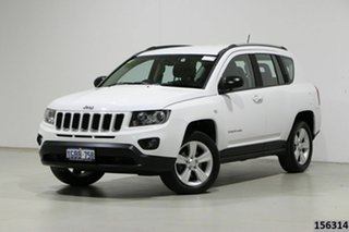 2016 Jeep Compass MK MY16 Sport (4x2) White 6 Speed Automatic Wagon.