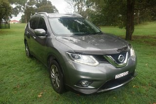 2016 Nissan X-Trail T32 TL 4WD Grey 6 Speed Manual Wagon.