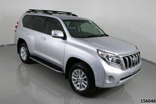 2017 Toyota Landcruiser Prado GDJ150R MY16 VX (4x4) Silver 6 Speed Automatic Wagon