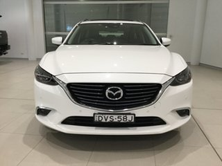 2017 Mazda 6 GL1031 GT SKYACTIV-Drive Snowflake White 6 Speed Sports Automatic Wagon