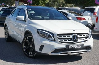 2017 Mercedes-Benz GLA-Class X156 808+058MY GLA250 DCT 4MATIC White 7 Speed.