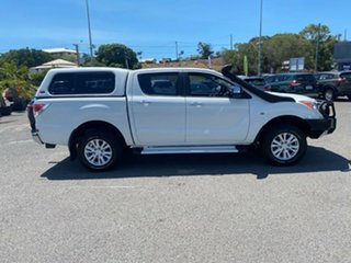 2013 Mazda BT-50 UP0YF1 GT White 6 Speed Sports Automatic Utility.