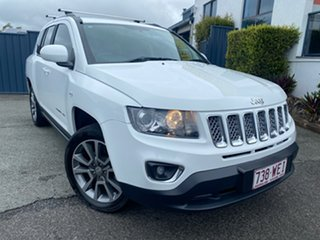 2014 Jeep Compass MK MY14 Limited White 6 Speed Sports Automatic Wagon.