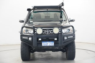 2015 Toyota Hilux GUN126R SR5 Double Cab Grey 6 Speed Manual Utility.