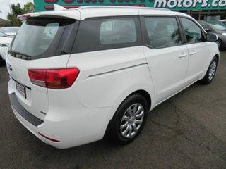 2017 Kia Carnival YP MY18 S White 6 Speed Sports Automatic Wagon