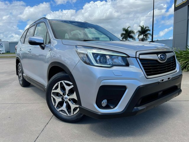Used Subaru Forester S5 MY19 2.5i-L CVT AWD Townsville, 2018 Subaru Forester S5 MY19 2.5i-L CVT AWD Silver/160119 7 Speed Constant Variable Wagon