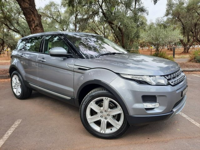 Used Land Rover Range Rover Evoque L538 MY14 Pure Adelaide, 2014 Land Rover Range Rover Evoque L538 MY14 Pure Silver 9 Speed Sports Automatic Wagon