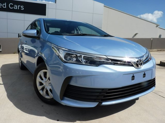 Pre-Owned Toyota Corolla ZRE172R Ascent S-CVT Blacktown, 2019 Toyota Corolla ZRE172R Ascent S-CVT Blue 7 Speed Constant Variable Sedan