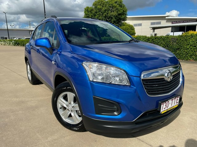 Used Holden Trax TJ MY14 LS Townsville, 2014 Holden Trax TJ MY14 LS Blue/070414 5 Speed Manual Wagon