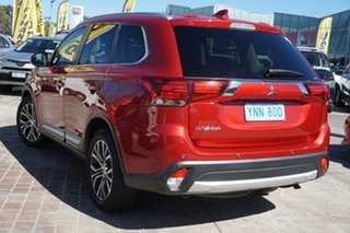 2018 Mitsubishi Outlander ZL MY18.5 LS 2WD Maroon 6 Speed Constant Variable Wagon