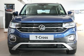2020 Volkswagen T-Cross C1 MY21 85TSI DSG FWD Style Blue 7 Speed Sports Automatic Dual Clutch Wagon