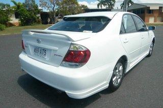 2005 Toyota Camry ACV36R MY06 Sportivo White 5 Speed Manual Sedan.