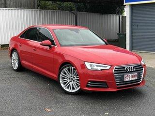2016 Audi A4 B9 8W MY16 Sport S Tronic Red 7 Speed Sports Automatic Dual Clutch Sedan.