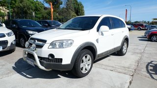 2007 Holden Captiva CG CX AWD White 5 Speed Sports Automatic Wagon.