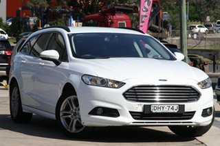 2016 Ford Mondeo MD Ambiente White 6 Speed Sports Automatic Wagon.