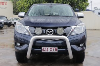 2018 Mazda BT-50 UR0YG1 XTR 4x2 Hi-Rider Deep Crystal Blue 6 Speed Sports Automatic Utility