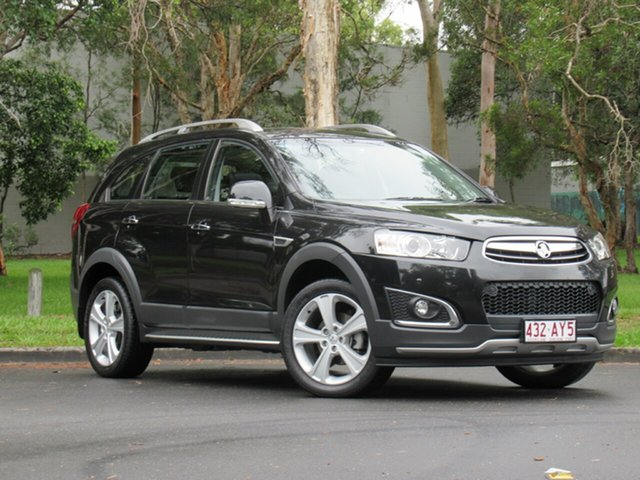 Used Holden Captiva CG MY15 7 AWD LTZ, 2014 Holden Captiva CG MY15 7 AWD LTZ Black 6 Speed Sports Automatic Wagon