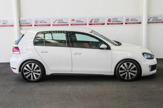 2011 Volkswagen Golf 1K MY12 GTD White 6 Speed Direct Shift Hatchback
