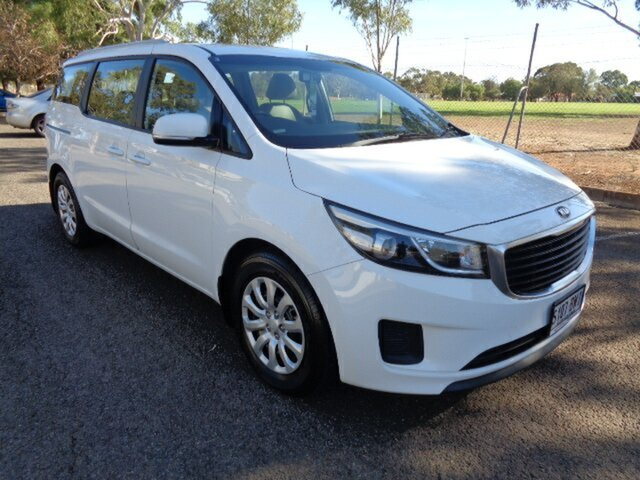 Used Kia Carnival YP MY16 S Elizabeth, 2015 Kia Carnival YP MY16 S White 6 Speed Sports Automatic Wagon