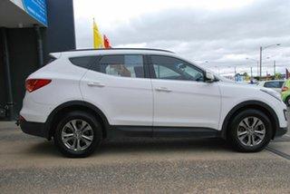 2012 Hyundai Santa Fe DM Active CRDi (4x4) White 6 Speed Automatic Wagon