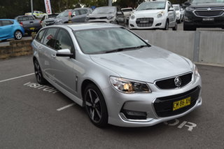 2017 Holden Commodore VF II MY17 SV6 Sportwagon Silver 6 Speed Sports Automatic Wagon.