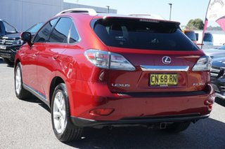 2009 Lexus RX GGL15R RX350 Sports Luxury Red 6 Speed Sports Automatic Wagon