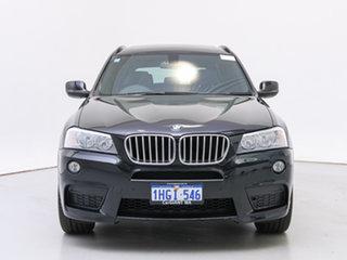 2013 BMW X3 F25 xDrive30d Black 8 Speed Automatic Wagon.