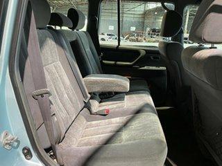 2001 Toyota Landcruiser FZJ105R 50th Anniversary GXL Blue 4 Speed Automatic Wagon