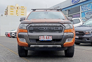 2016 Ford Ranger PX MkII Wildtrak Double Cab Orange 6 Speed Sports Automatic Utility.