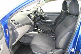 2018 Mitsubishi Triton MQ MY18 GLS (4x4) Blue 5 Speed Automatic Dual Cab Utility