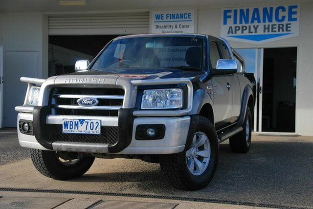 Used Ford Ranger PJ XLT (4x4) Wendouree, 2007 Ford Ranger PJ XLT (4x4) Grey 5 Speed Automatic Super Cab Utility