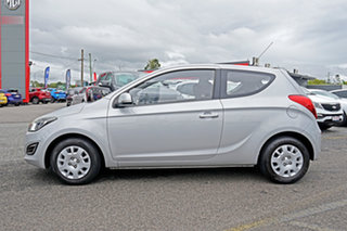 2012 Hyundai i20 PB MY12 Active Silver 4 Speed Automatic Hatchback
