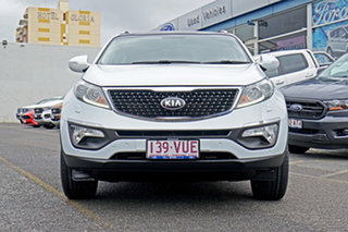2015 Kia Sportage SL MY15 Platinum AWD White 6 Speed Sports Automatic Wagon.