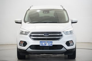 2017 Ford Escape ZG Trend White 6 Speed Sports Automatic Dual Clutch SUV.