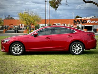 2013 Mazda 6 GJ1031 Touring SKYACTIV-Drive Red/Black 6 Speed Sports Automatic Sedan
