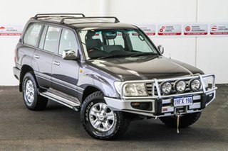 2006 Toyota Landcruiser UZJ100R Upgrade II GXL (4x4) Charcoal Grey 5 Speed Automatic Wagon.