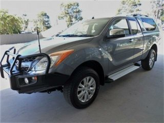 2014 Mazda BT-50 MY13 XTR (4x4) Grey 6 Speed Automatic Freestyle Utility