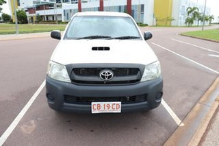 2010 Toyota Hilux KUN16R MY10 SR 4x2 Glacier White 5 Speed Manual Dual Cab.